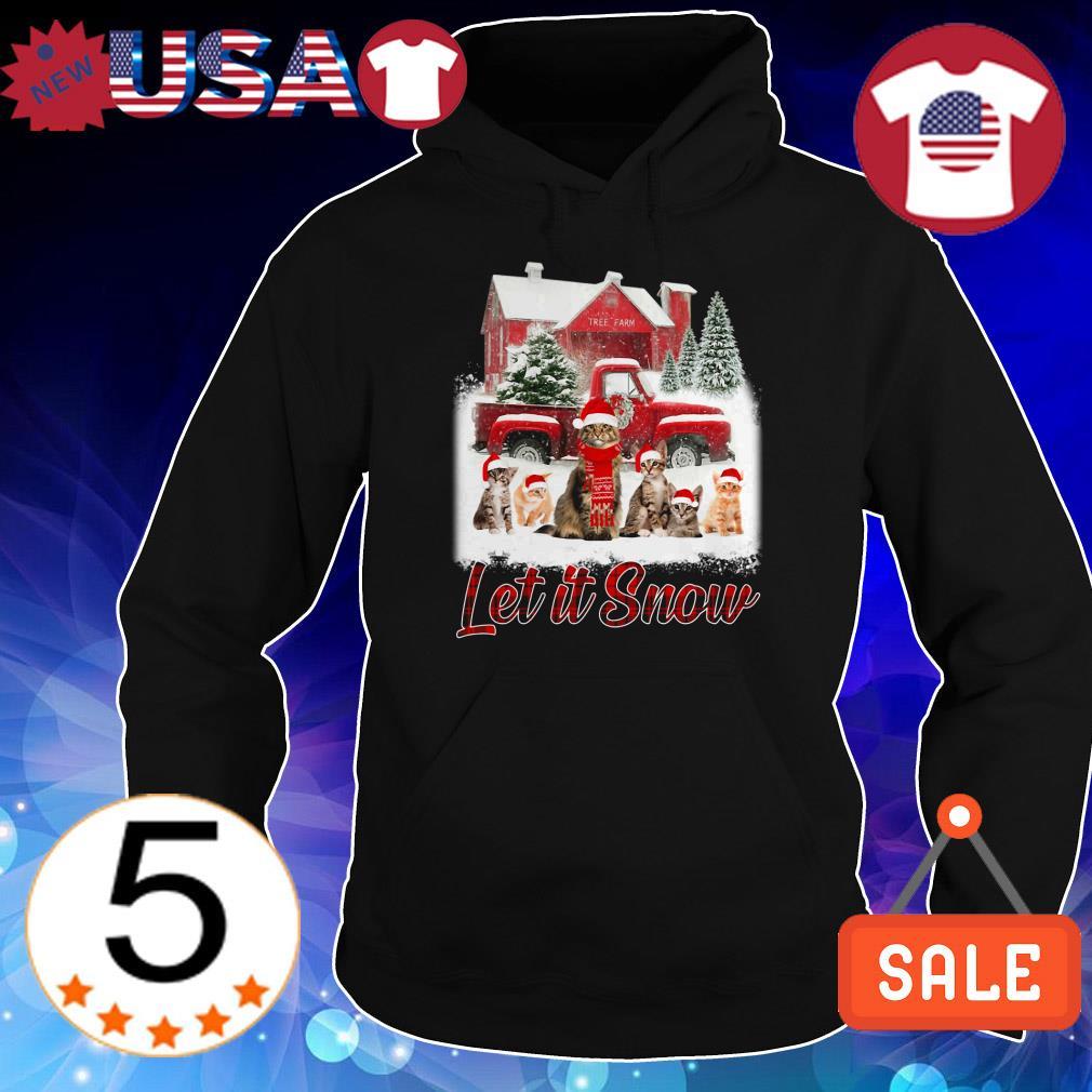 Boxer Let It Snow Christmas sweatshirt