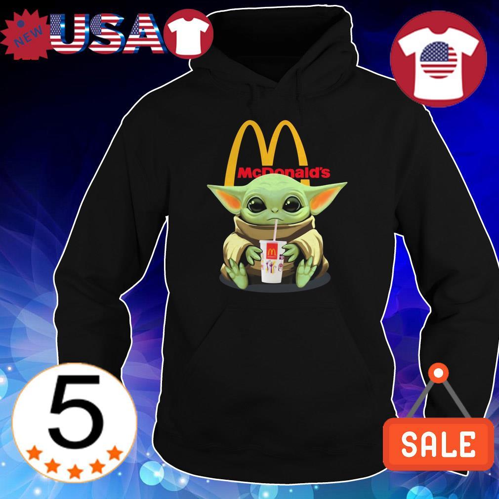Star Wars Baby Yoda hug McDonald shirt