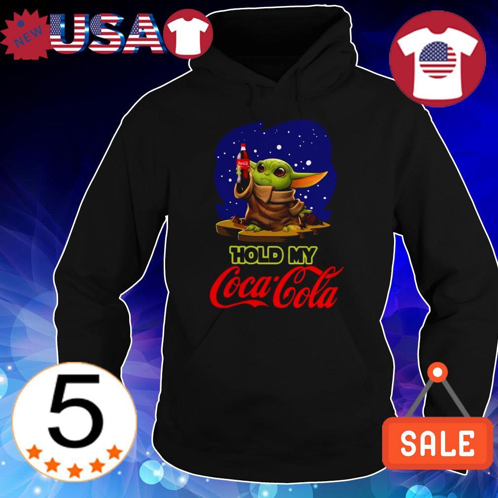 Star Wars Baby Yoda hold my Coca Cola shirt