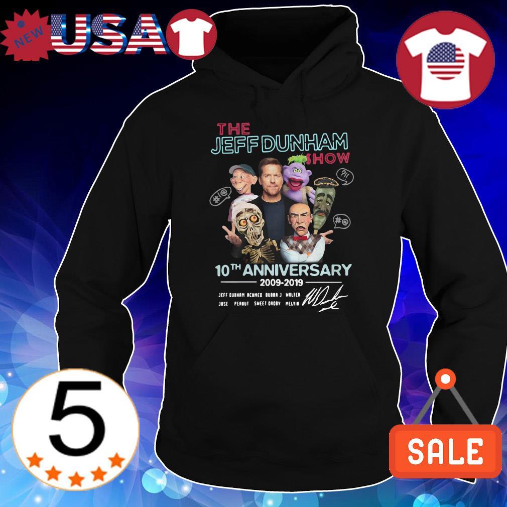 The Jeff Dunham show 10th anniversary 2009 2019 signature shirt