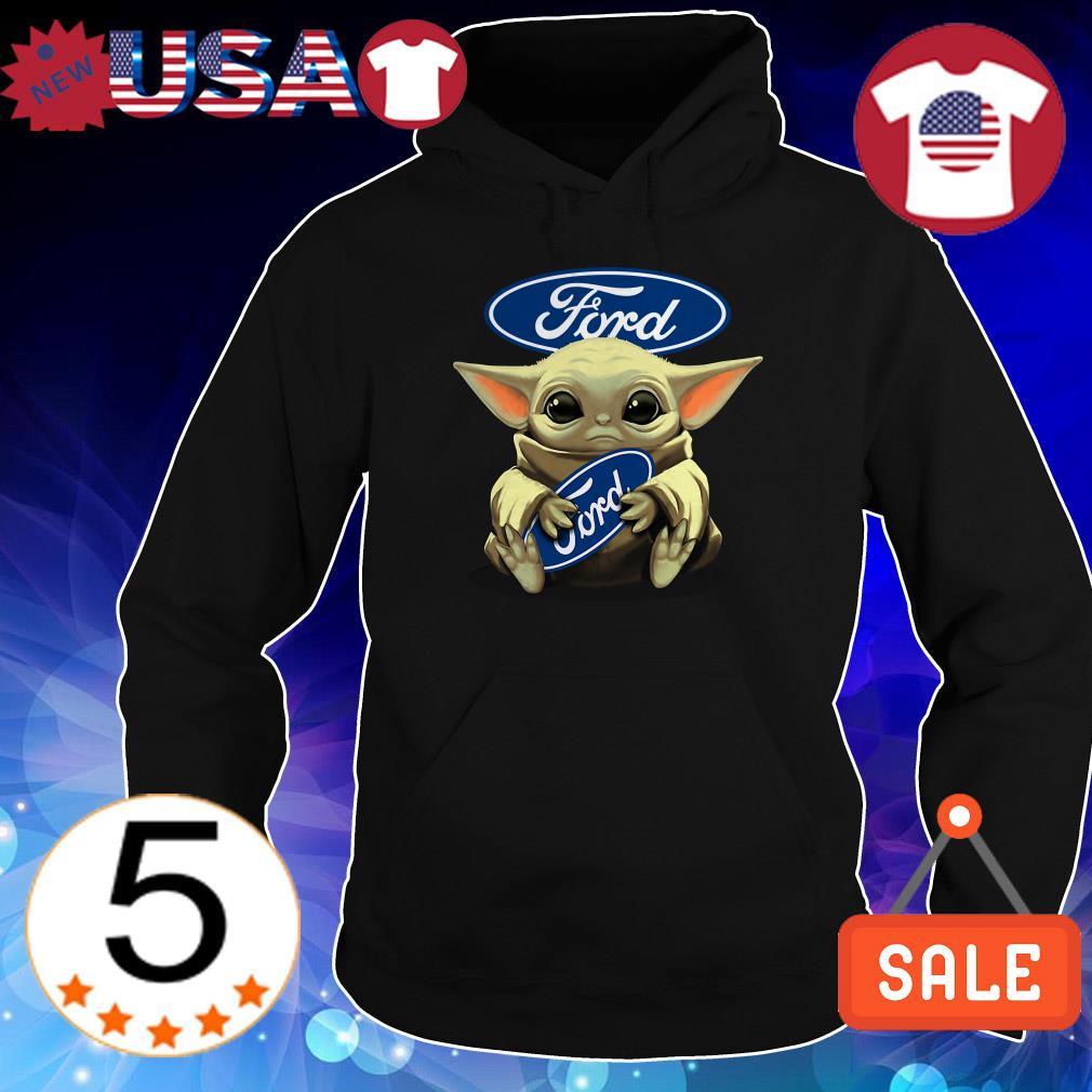 Star Wars Baby Yoda hug Ford shirt