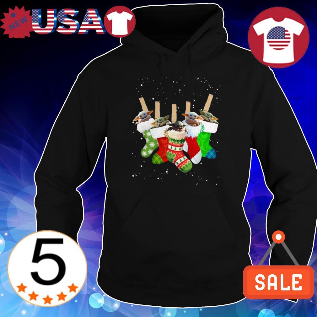 Star Wars Baby Yoda Christmas socks sweatshirt