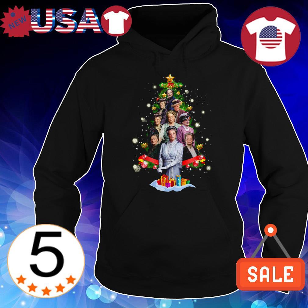 Violet Crawley Downton Abbey Christmas tree sweatshirt