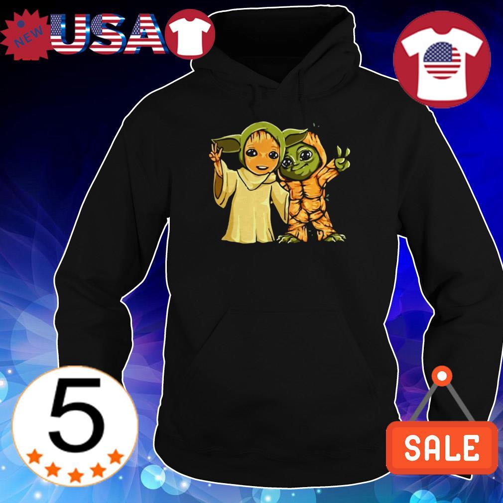 Yoda and Groot shirt