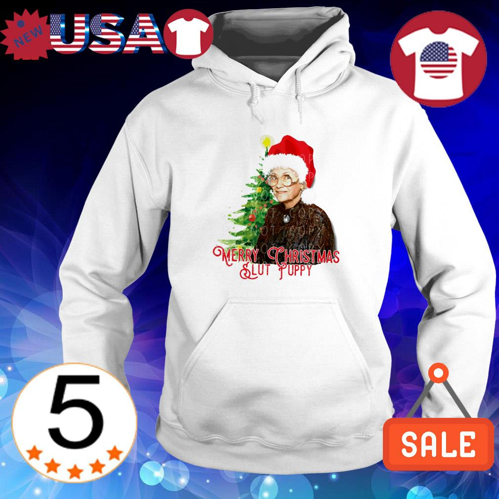 Golden Girls Merry Christmas Slut Puppy sweatshirt