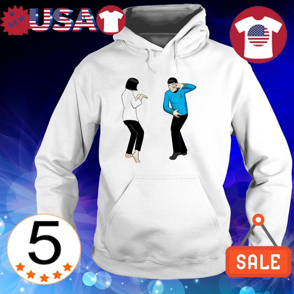 Spock Fiction Star Trek Pulp Fiction shirt