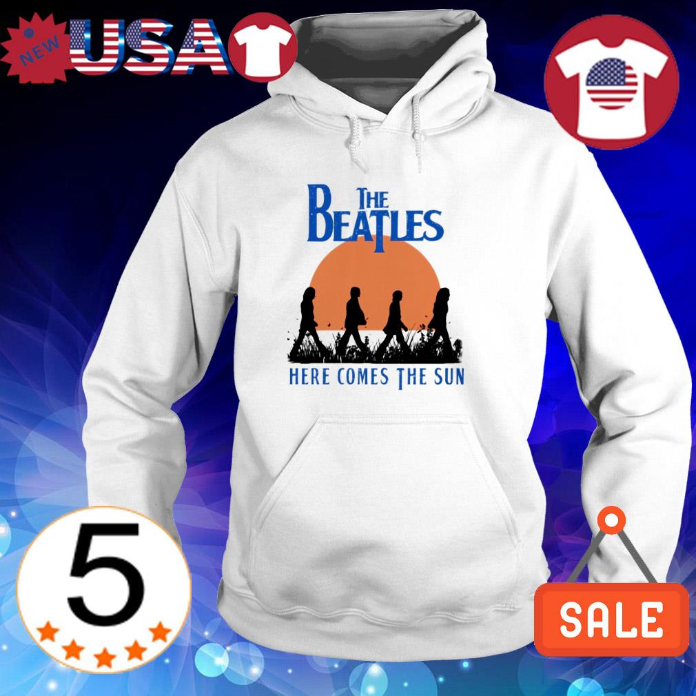 The Beatles here comes the sun shirt