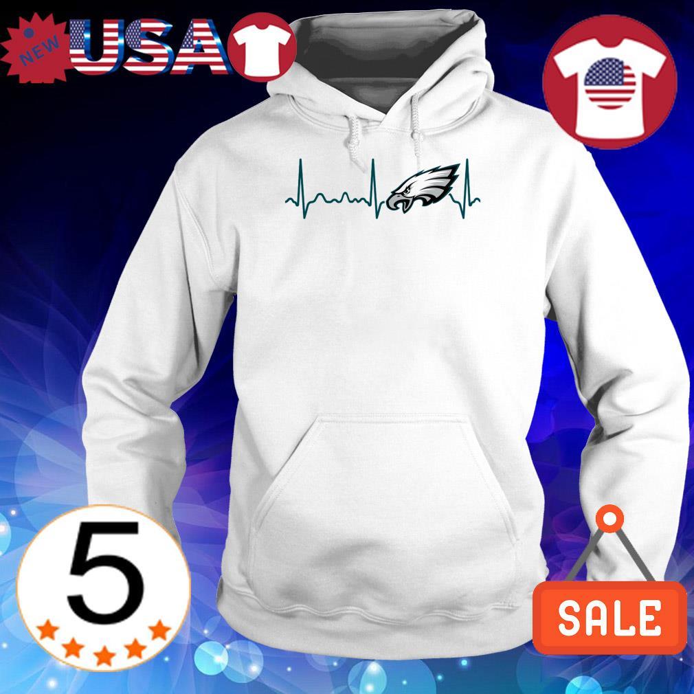 Philadelphia Eagles heartbeat shirt
