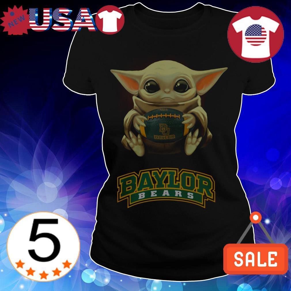Star Wars Baby Yoda hug Baylor Bears shirt