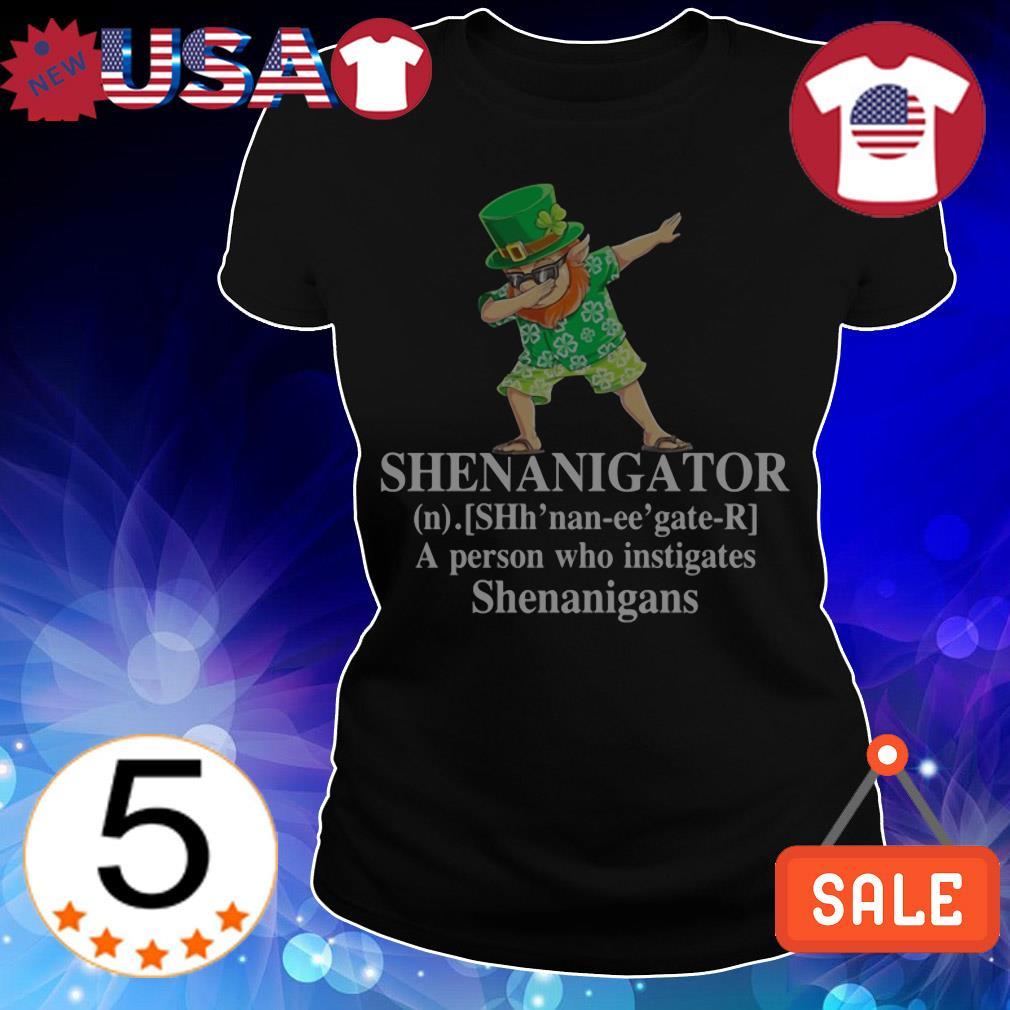 Leprechaun Dabbing Shenanigator St. Patrick's Day shirt
