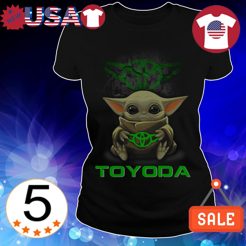 Star Wars Baby Yoda hug Toyoda shirt