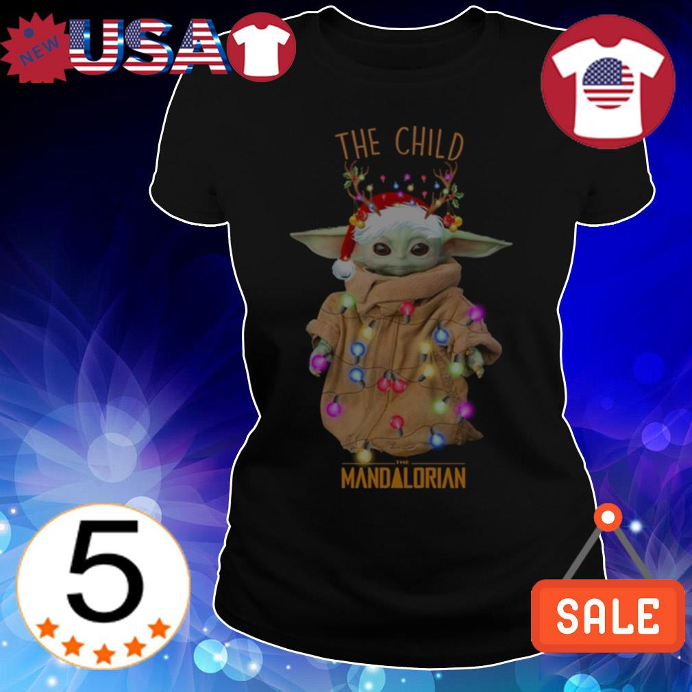 Star Wars Baby Yoda the child the Mandalorian Christmas sweatshirt