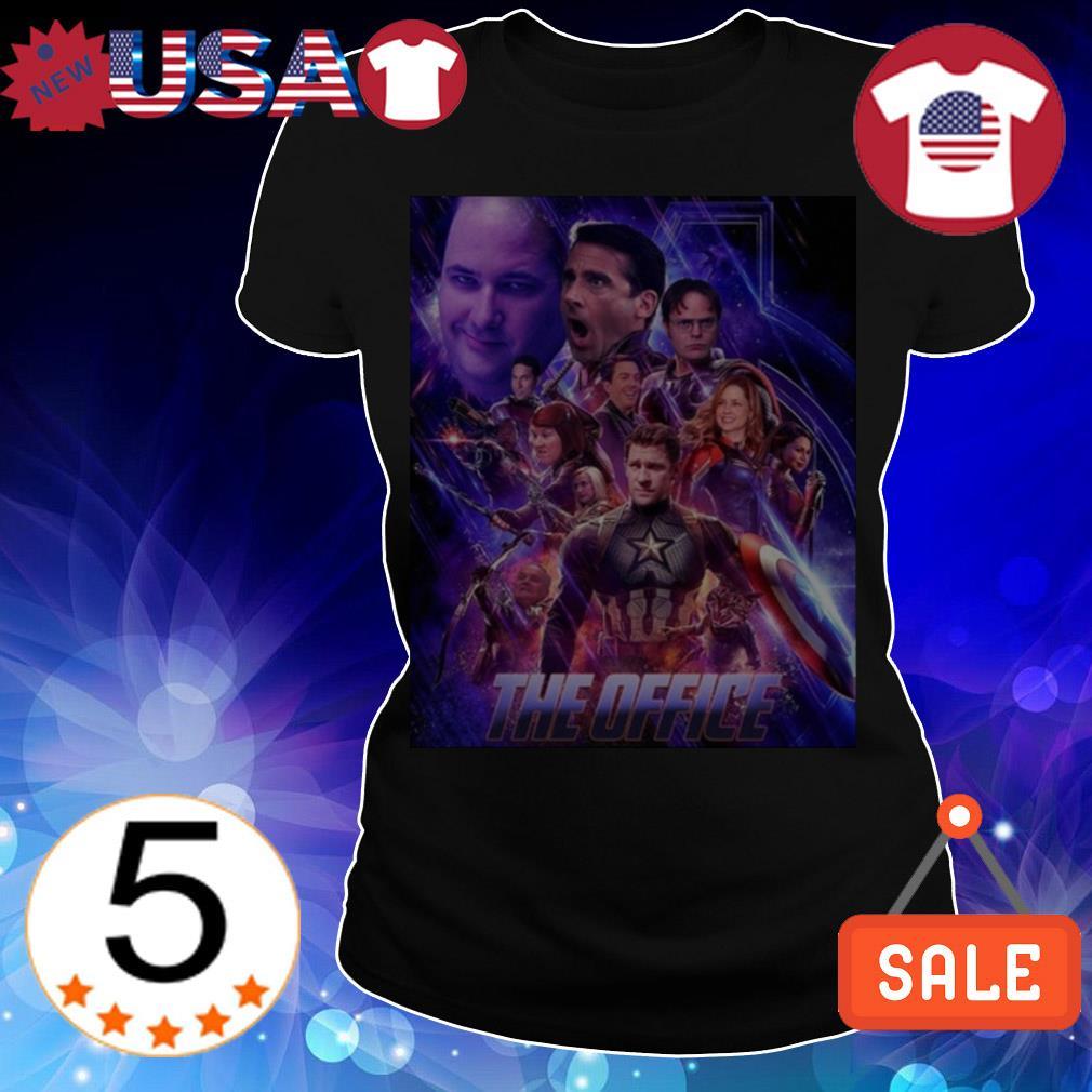 The Office Avengers Endgame shirt