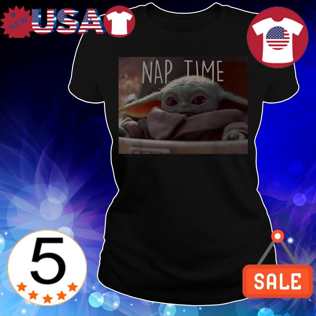 Star Wars Baby Yoda nap time shirt