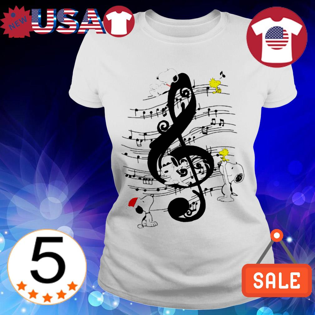 The Peanuts Snoopy and Woodstock shirt