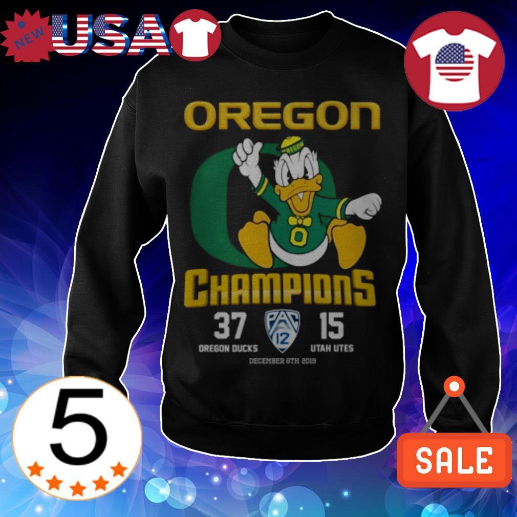 Donald Oregon Ducks Champions shirt