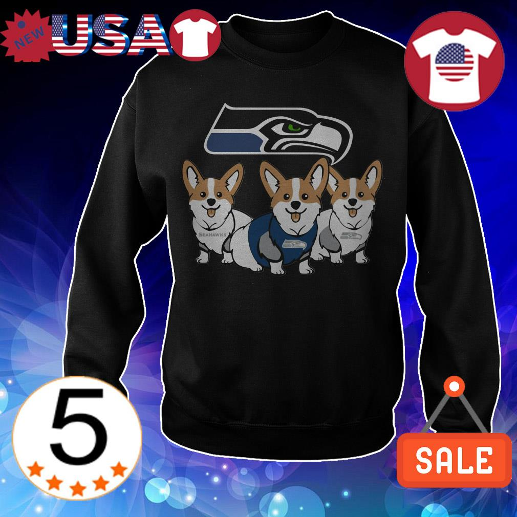 Seattle Seahawks Corgi shirt
