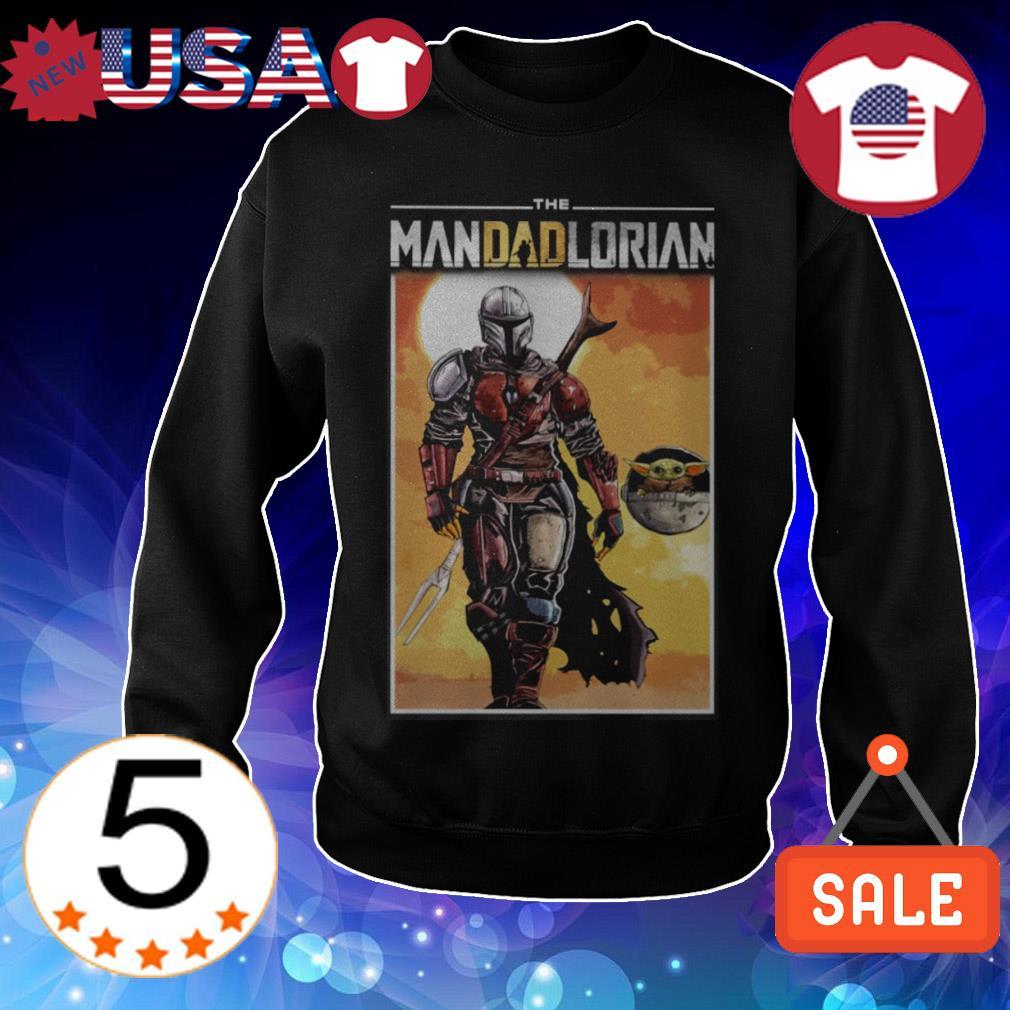 Star Wars The Mandalorian and Baby Yoda shirt