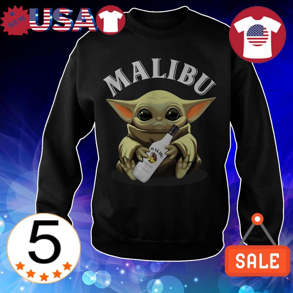 Star Wars hug Malibu Whiskey shirt