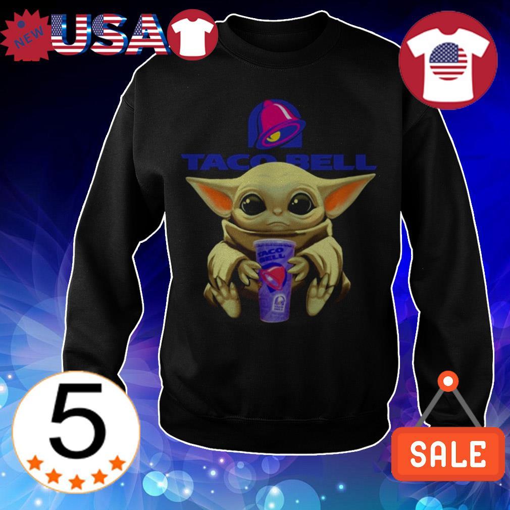 Star Wars Baby Yoda hug Taco Bell shirt