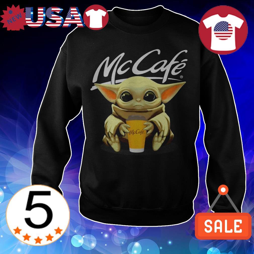 Star Wars Baby Yoda hug McCafe shirt