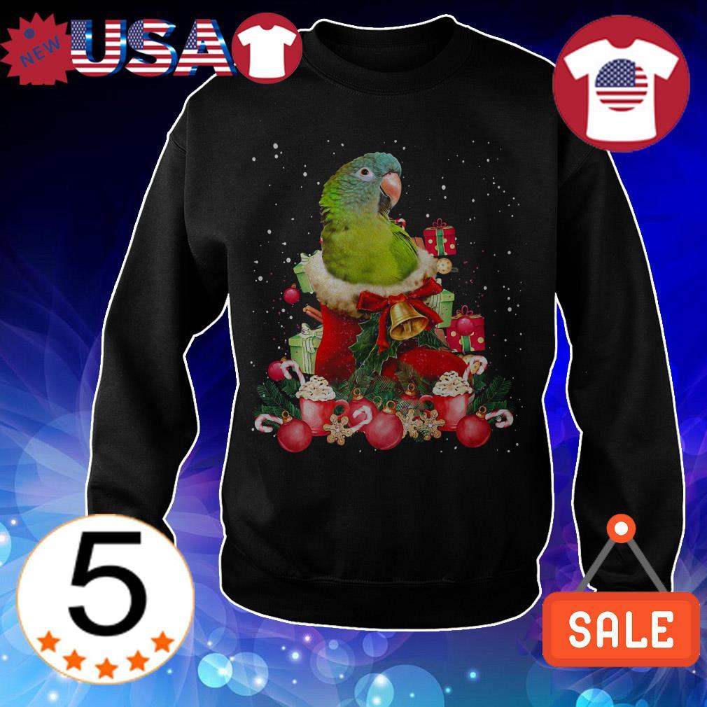 Parrot gift ball Christmas Crewneck sweatshirt