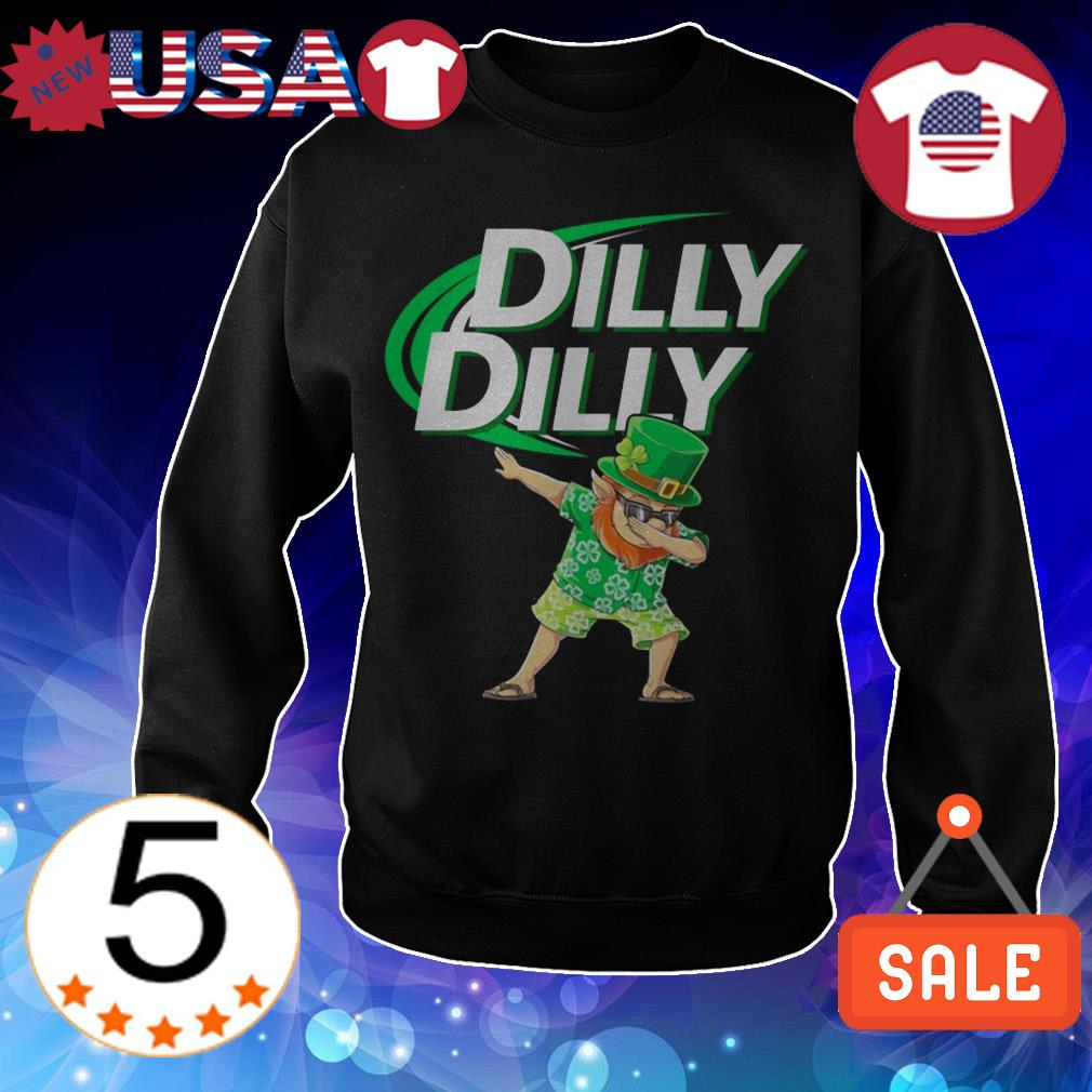 Leprechaun Dabbing Dilly Dilly St. Patrick's Day shirt