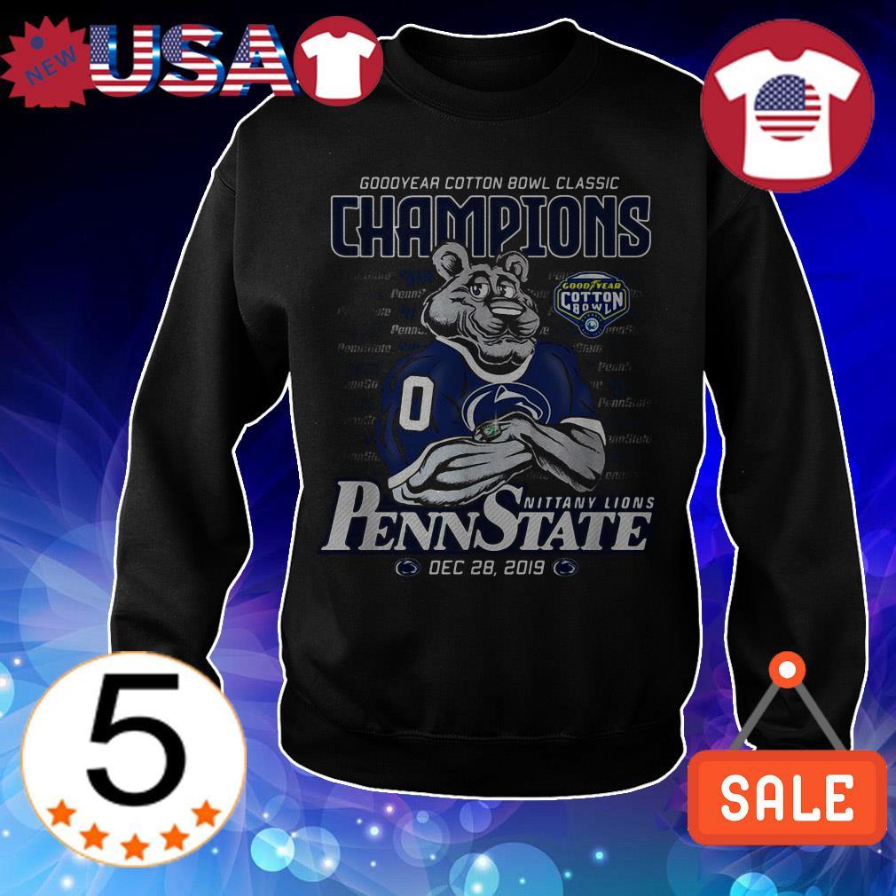Penn State Nittany Lions Goodyear cotton bowl classic Champions shirt