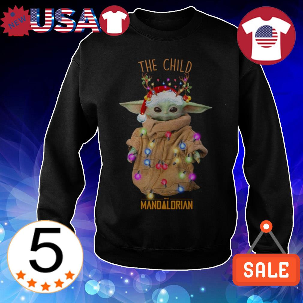 Star Wars Baby Yoda the child the Mandalorian Christmas sweatshirt