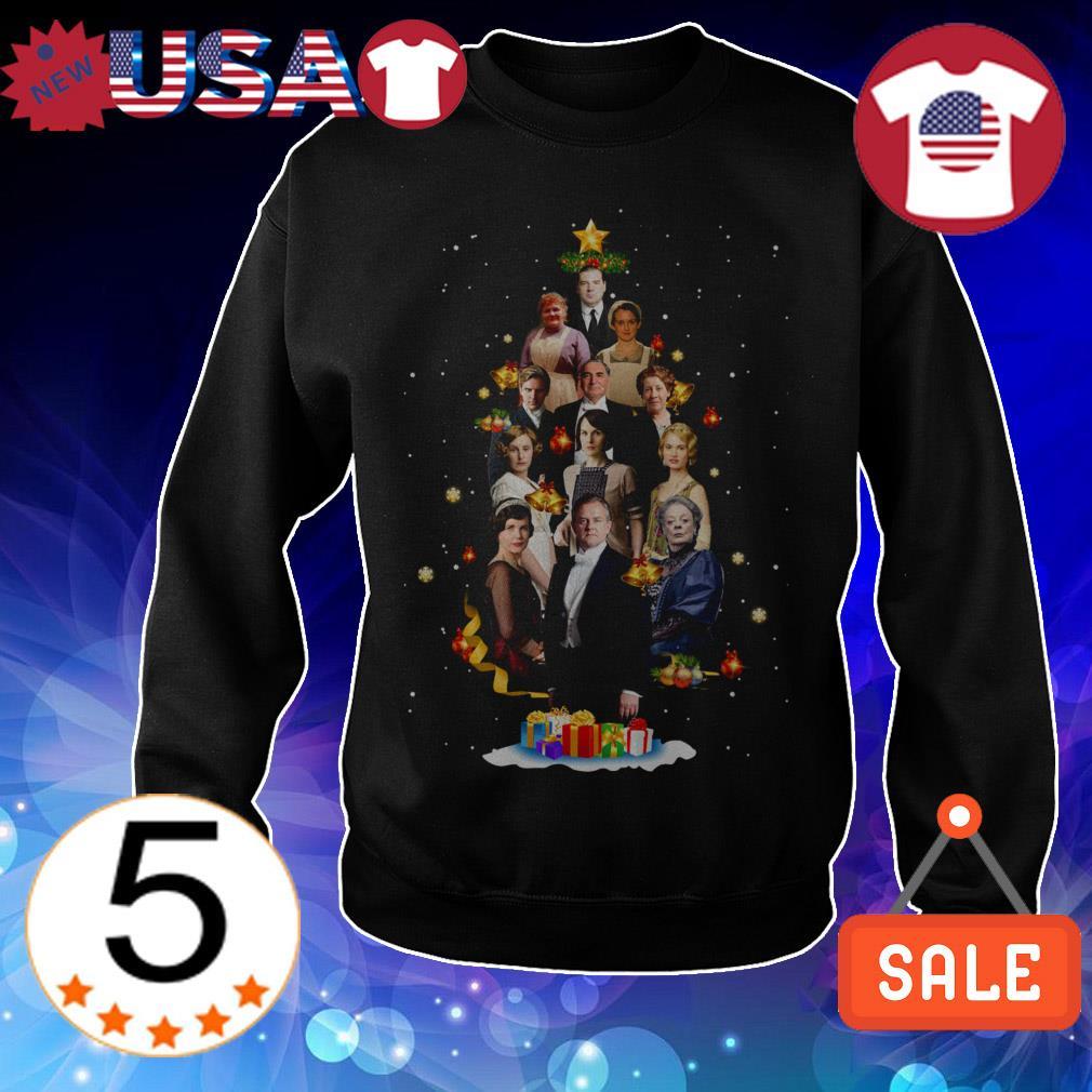 Downton Abbey characters Christmas tree shirt sweatshirt