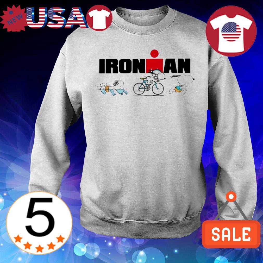 Snoopy Ironman sports shirt
