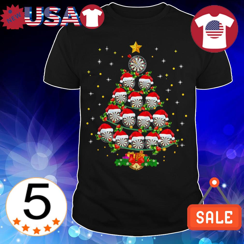 Darts Lover Christmas tree sweatshirt