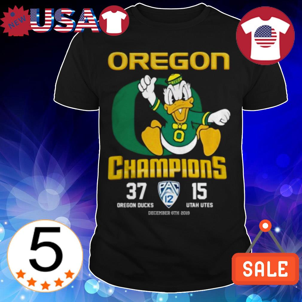 Donald Oregon Ducks Champions shirt