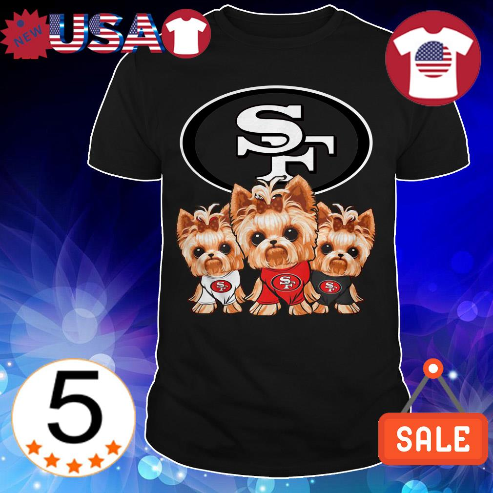 San Francisco 49ers Yorkshire Terrier shirt