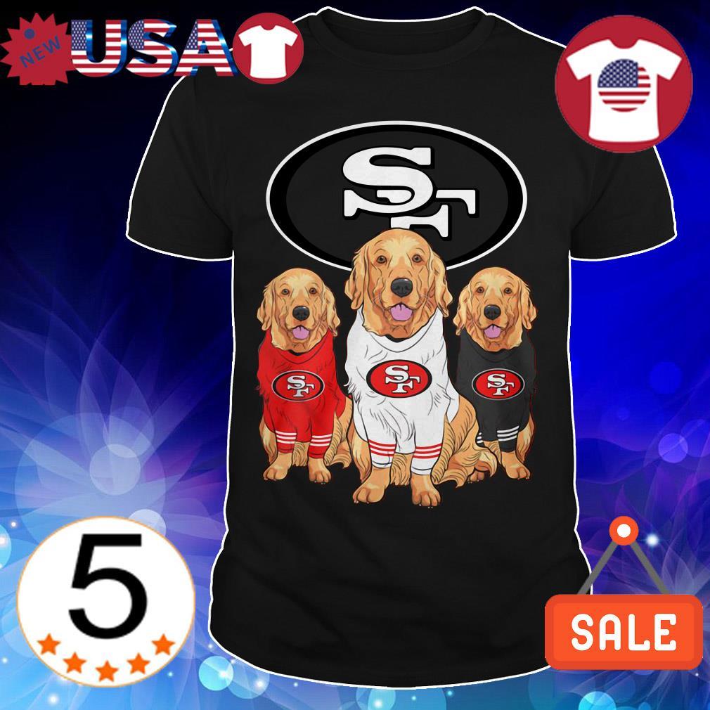 San Francisco 49ers Golden Retriever shirt