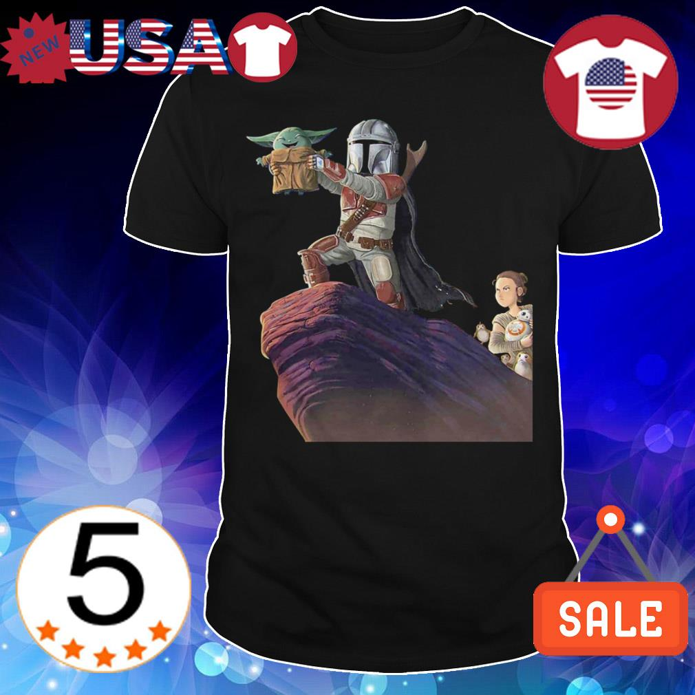 Star Wars Yoda the lion king shirt