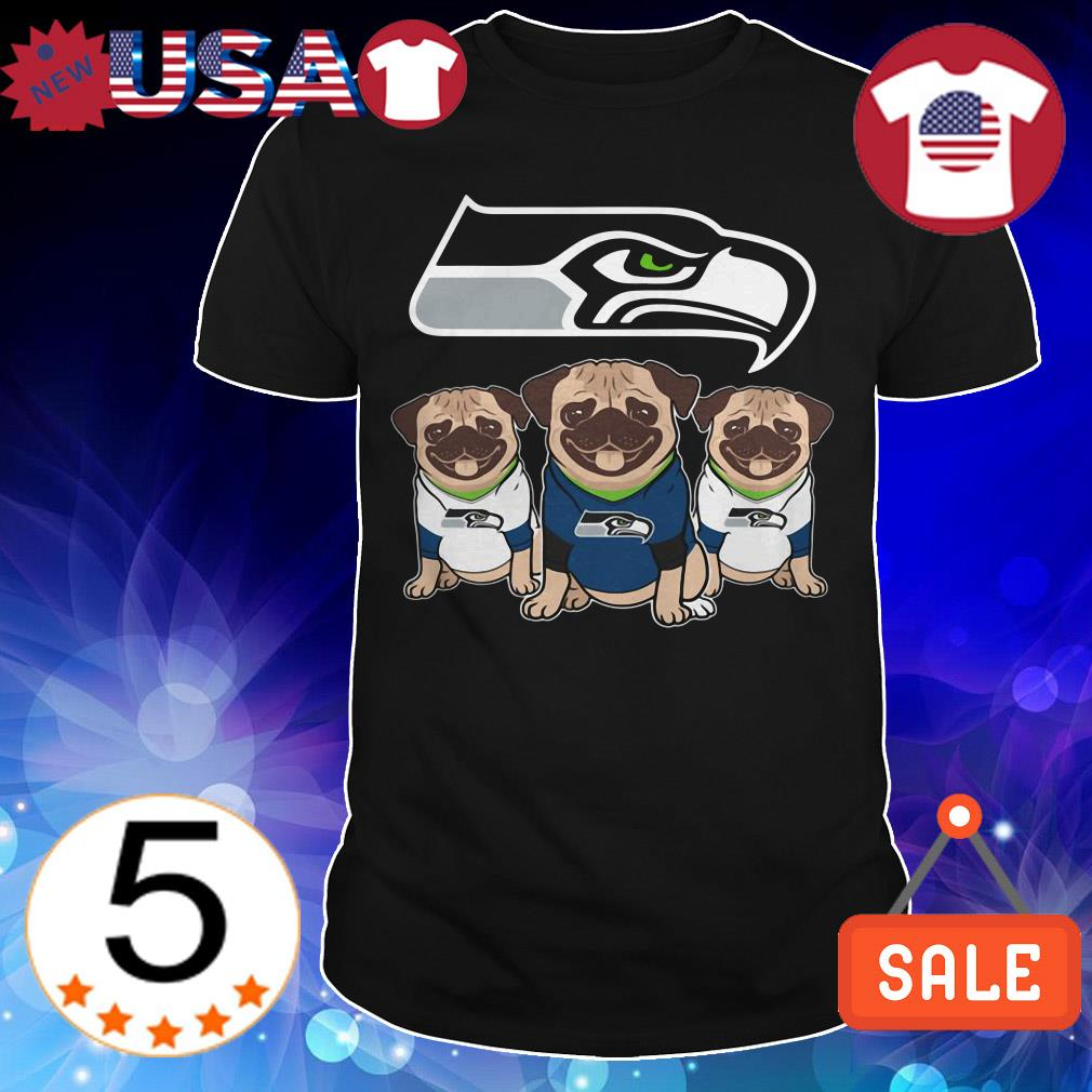 Seattle Seahawks Pug shirt