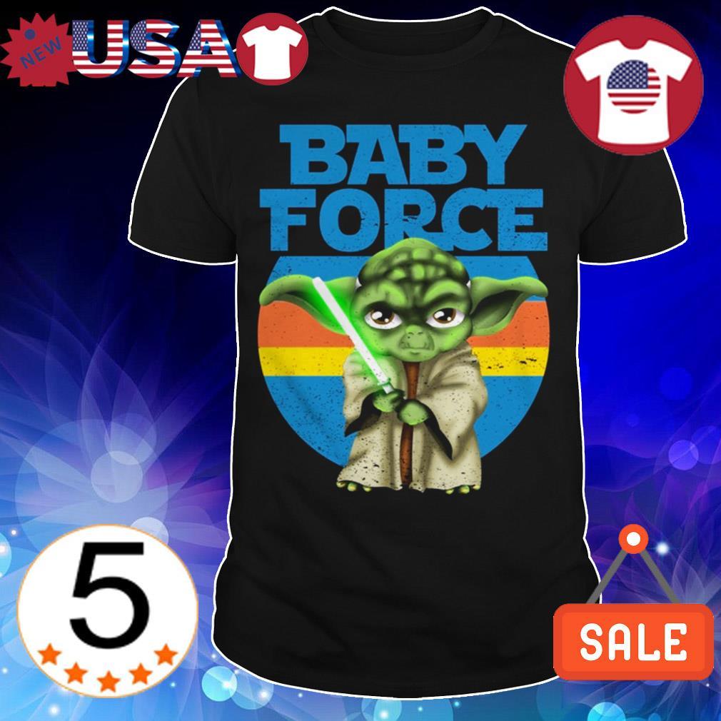 Star Wars Baby Force Yoda shirt