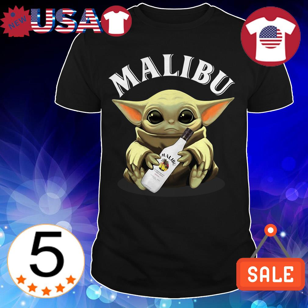 Star Wars hug Malibu Whiskey shirt