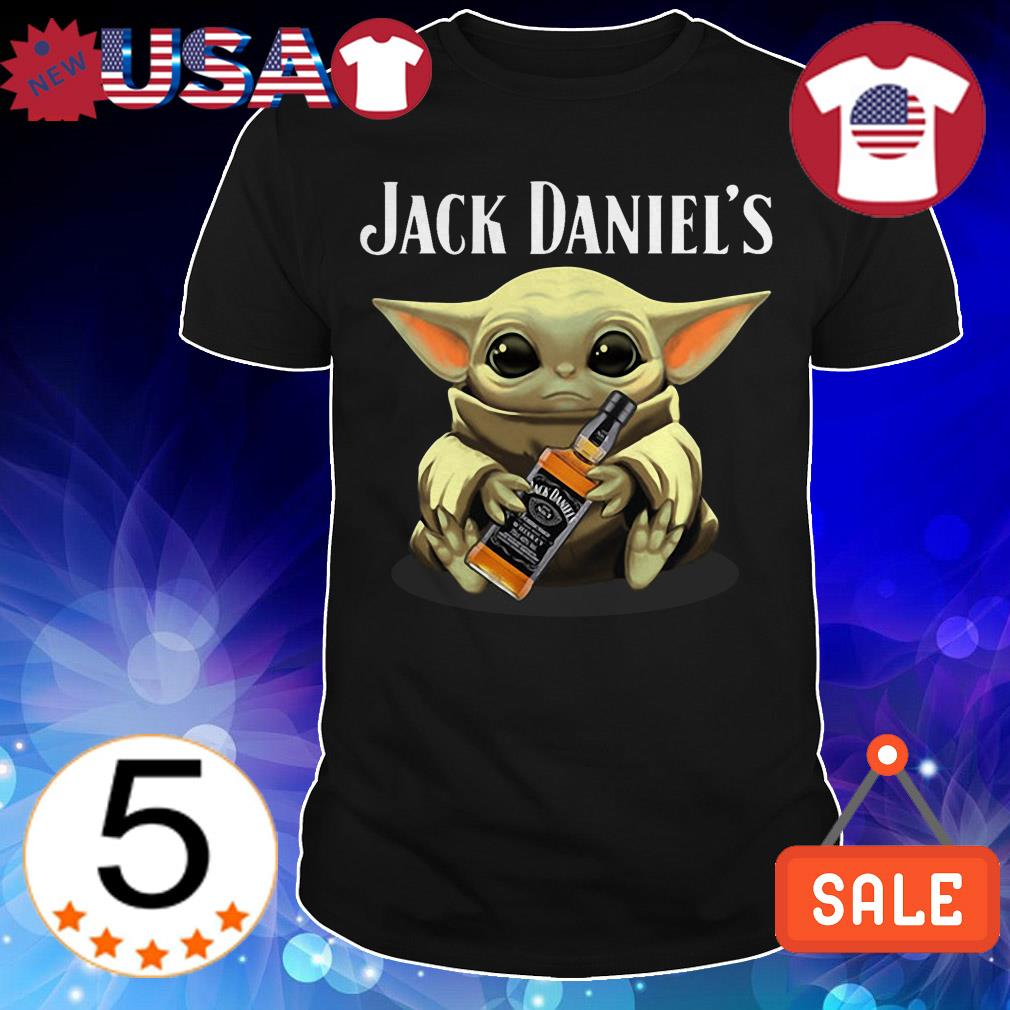 Star Wars hug Jack Daniels Whiskey shirt