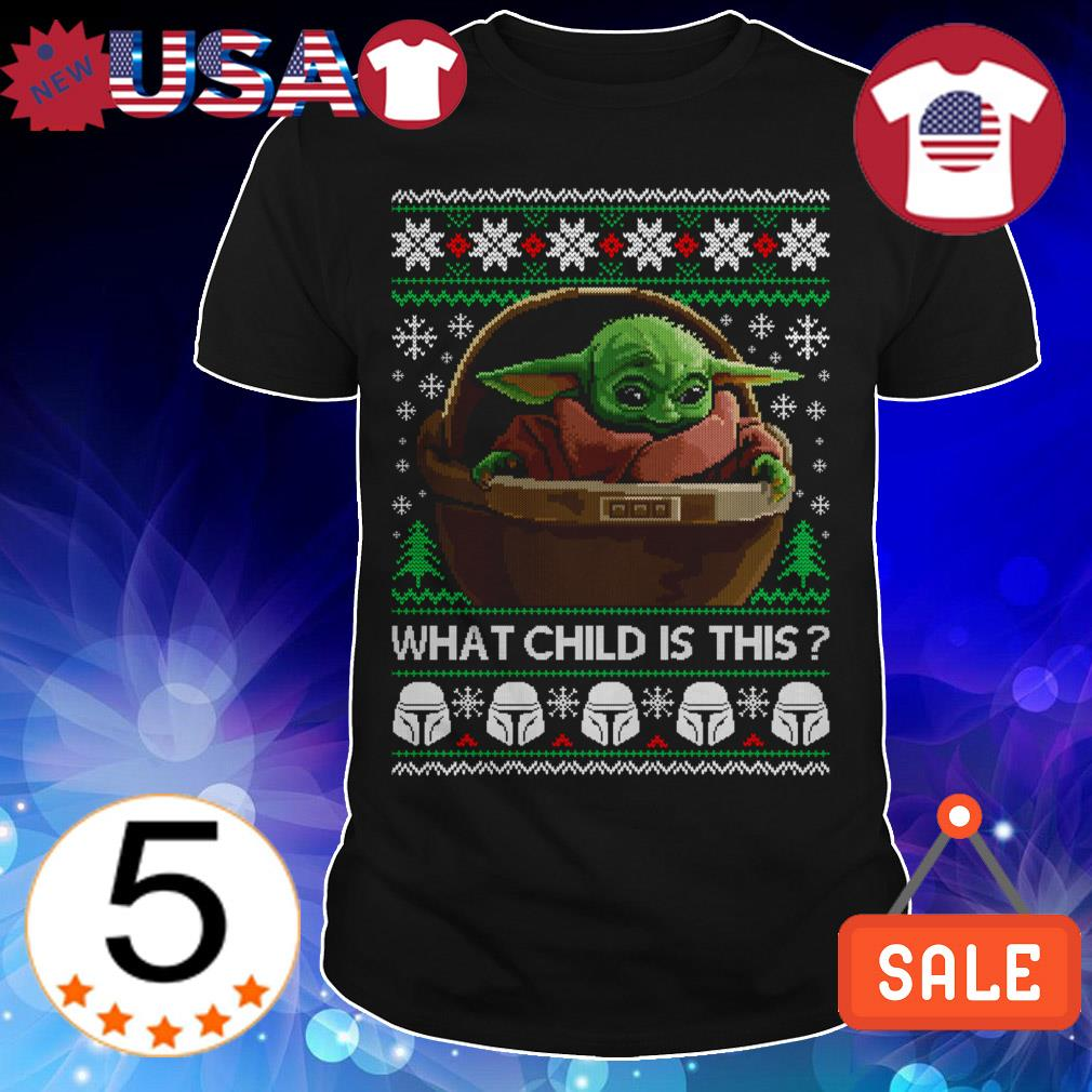 Star Wars Baby Yoda what child is this Christmas sweater