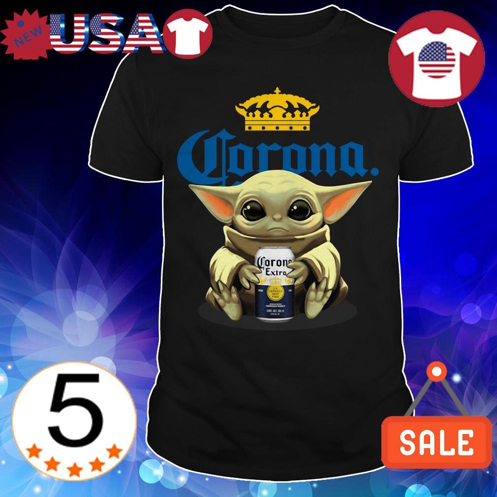 Star Wars hug Corona Extra Beer shirt