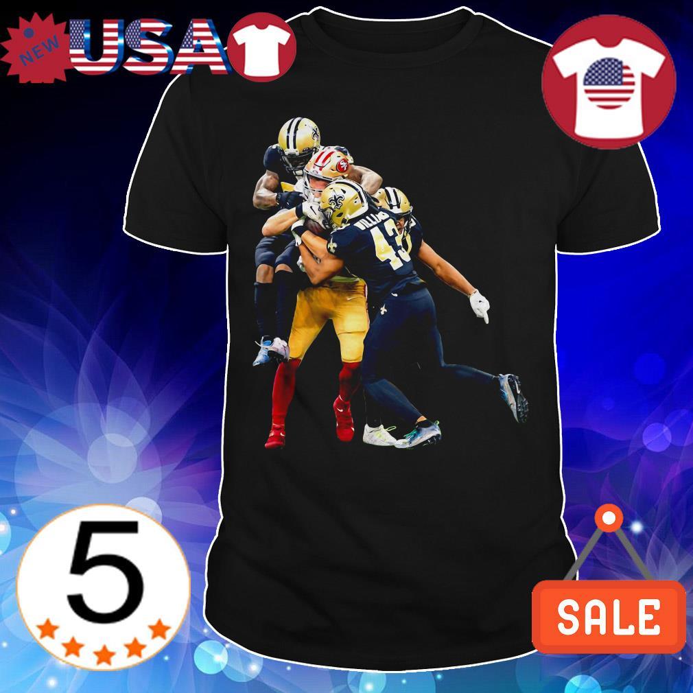 George Kittle 49ers Vs Saints Shirt