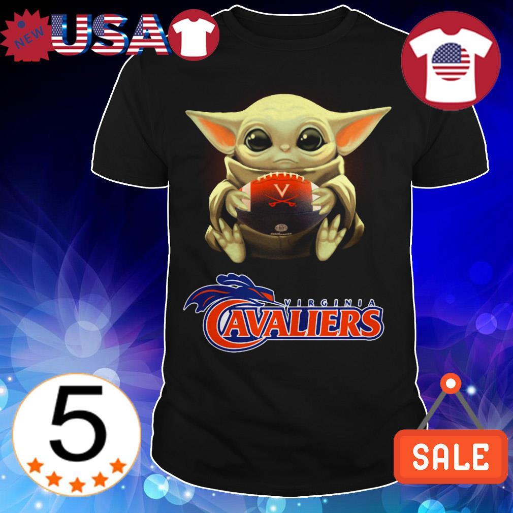 Star Wars Baby Yoda hug Virginia Cavalires shirt