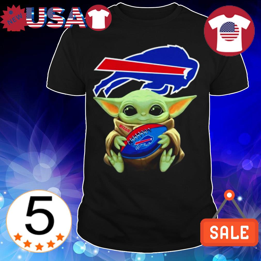 Star Wars Baby Yoda hug Buffalo Bills shirt