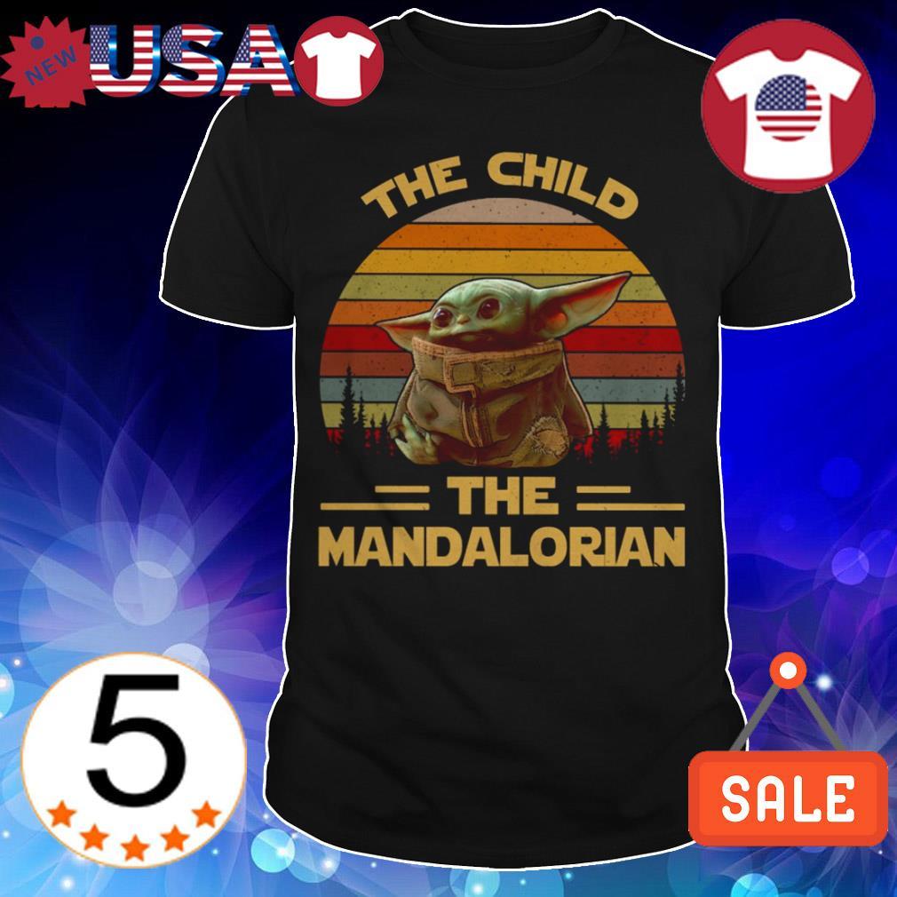 Star Wars Baby Yoda the child The Mandalorian vintage shirt