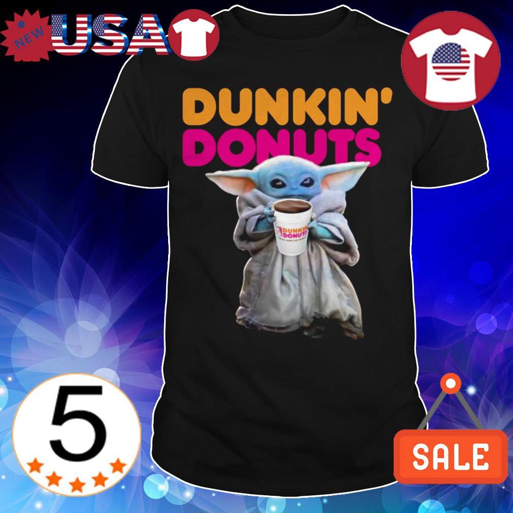 Star Wars Baby Yoda Dunkin' Donuts shirt