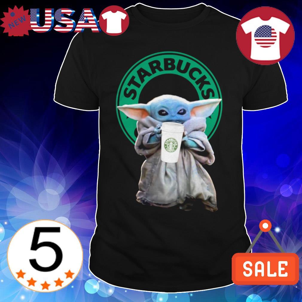 Star Wars Baby Yoda Starbucks shirt