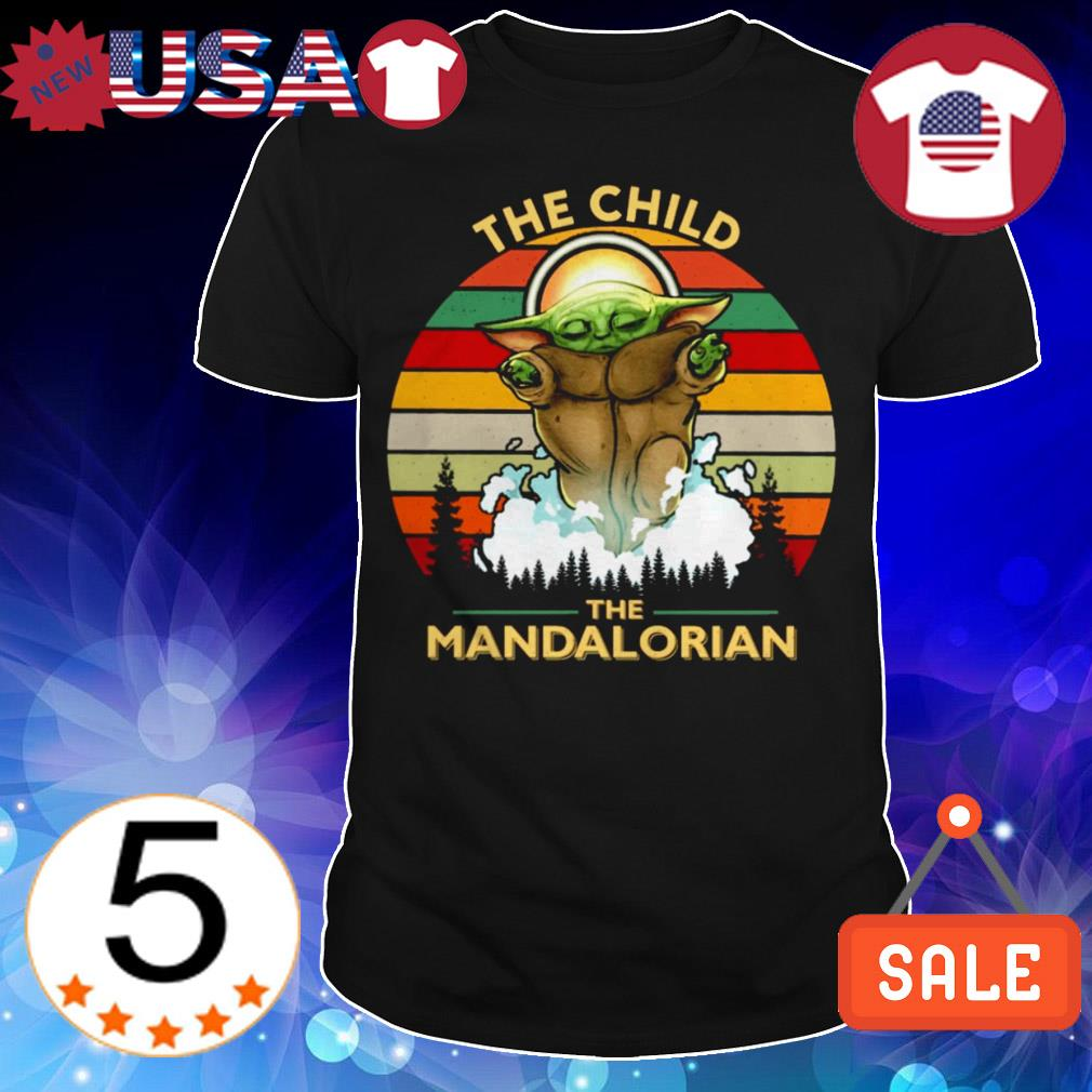 Star Wars Baby Yoda the child the Mandalorian vintage shirt