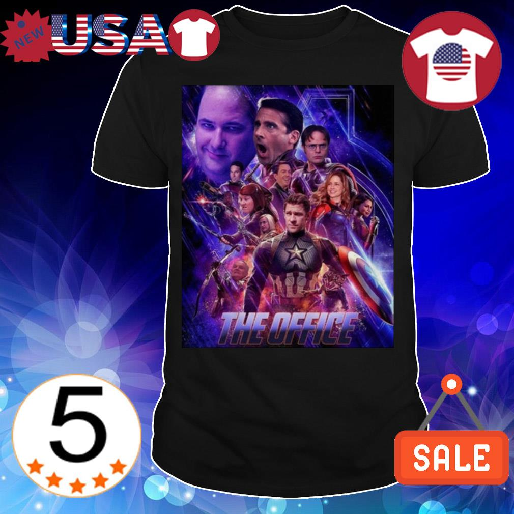 The Office Avengers Endgame shirt